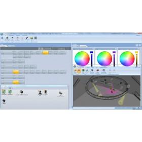 Lumidesk software afbeelding live bediening scherm