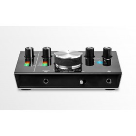M-Audio M-Track 2x2 - USB Audio Interface - aansluitingen voorkant