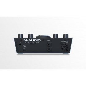 M-Audio M-Track 2x2 - USB Audio Interface - achterkant aansluitingen