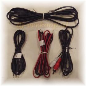 Monkey Banana Gibbon Air Black - Zwarte Actieve Near-Field Studio Monitor meegeleverde kabels