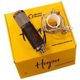Monkey Banana Hapa - USB Condensator Microfoon (ZWART)