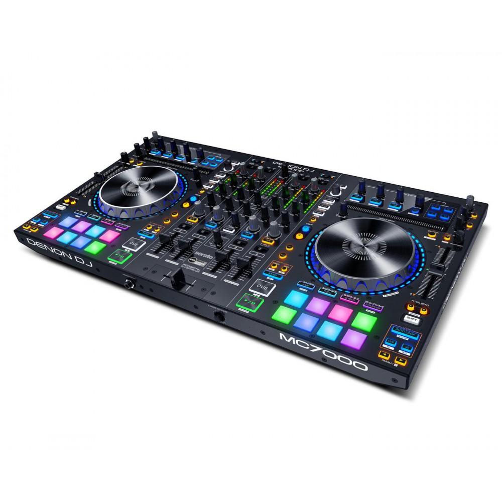 Actie! - Denon DJ MC7000 - Professionele DJ Controller met 2 Audio Interfaces (Actie)