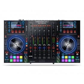 Denon DJ MCX8000 Standalone DJ Controller - bovenaanzicht, bediening en controles