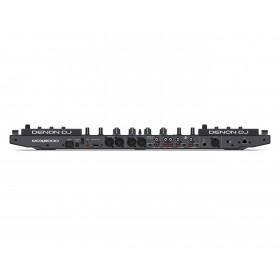 Denon DJ MCX8000 Standalone DJ Controller - achterkant met aansluitingen