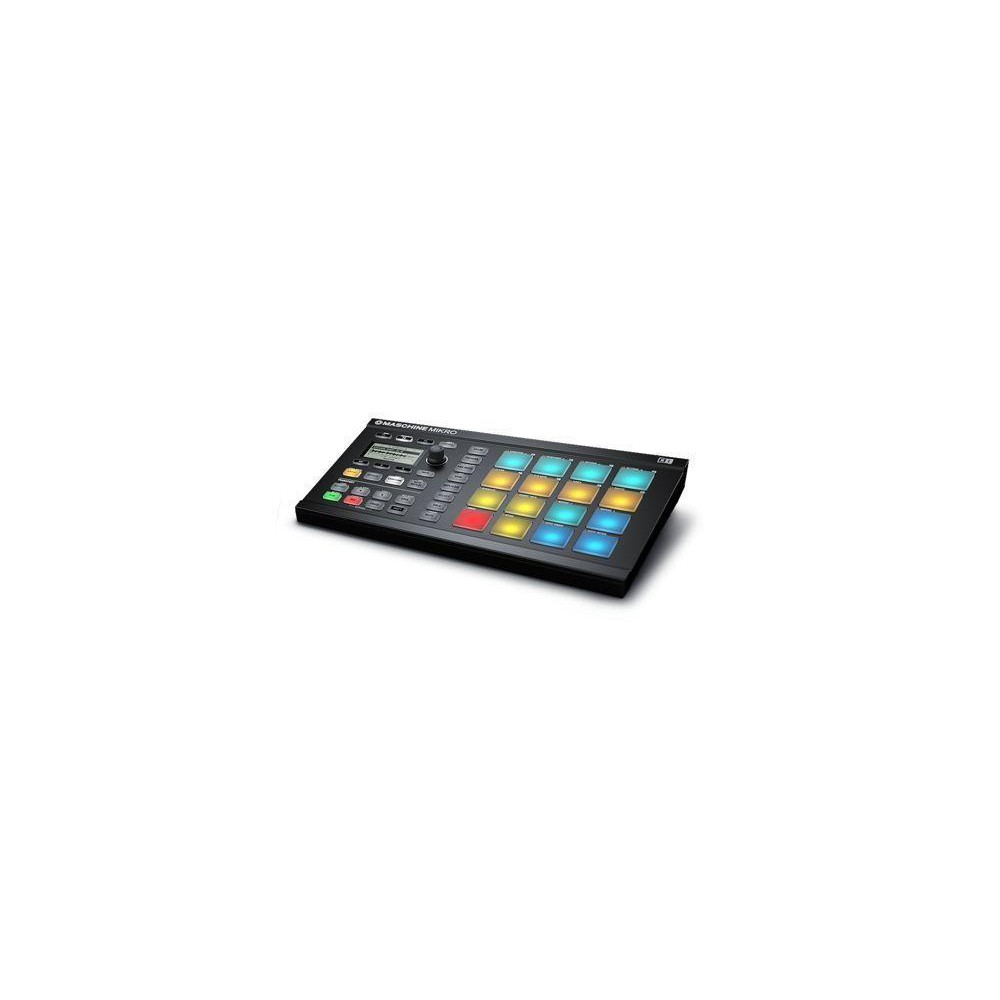 Op is Op - Native Instruments Maschine Mikro MKII Midi controller zwart
