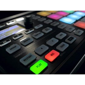 Native Instruments Maschine Mikro MKII Midi controller - menu knoppen + display