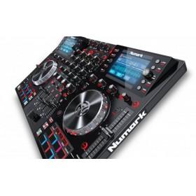 Numark NV II - Digitale DJ Controller voor Serato DJ zijkant