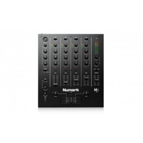 Numark M6 USB 4 Kanaals USB DJ Mixer (mk2) bovenkant bediening