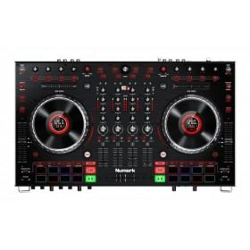 bovenkant controls Numark NS6II - 4-kanaals Premium DJ Controller