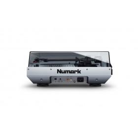 Numark NTX1000 Professional Direct-Drive draaitafel - zijkant met deksel dicht