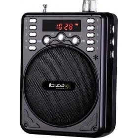 Ibiza Sound PORT1-BT - Compacte luidspreker met Bluetooth 30W