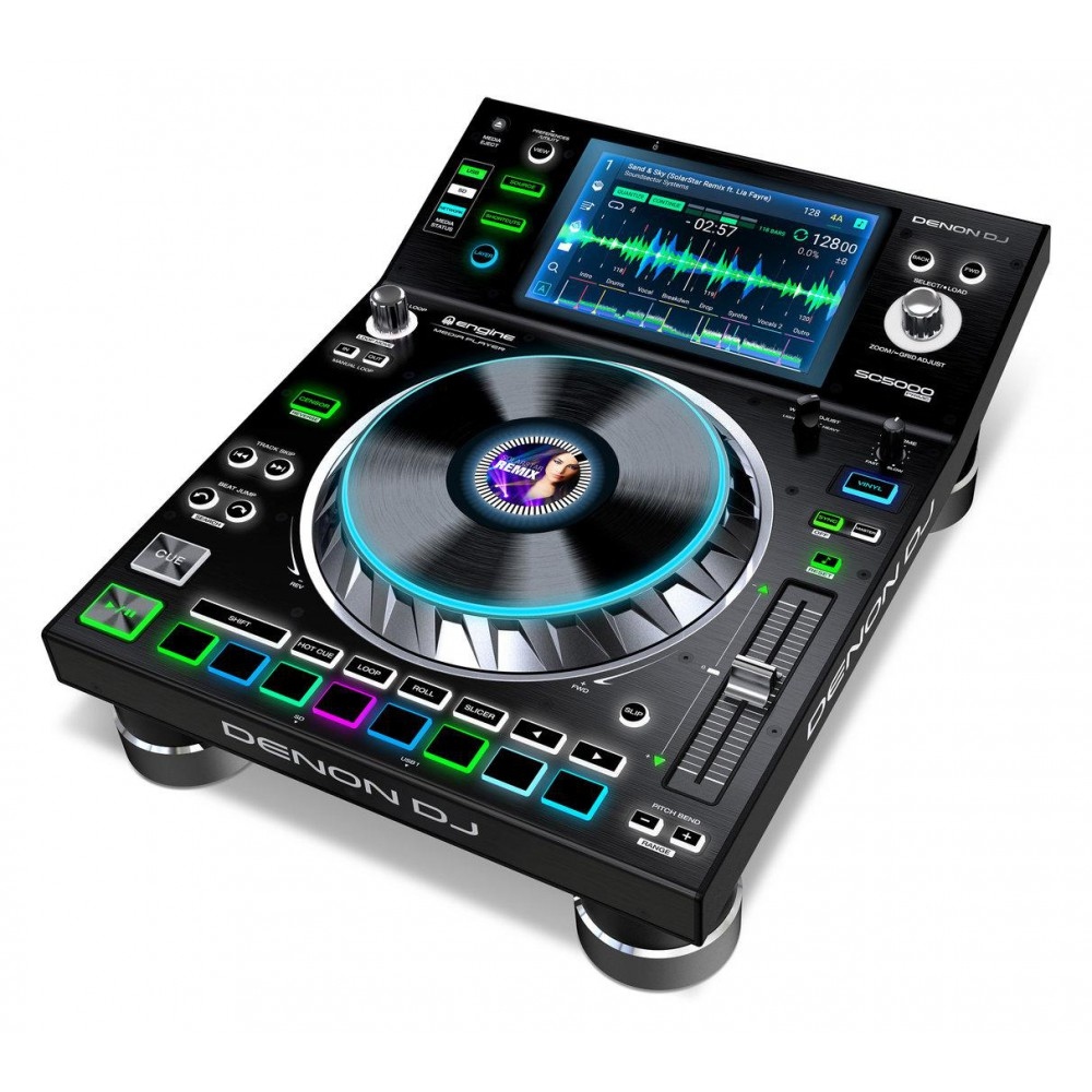 "Denon DJ SC5000 Prime - Professionele DJ Media Player met 7"" Multi-Touch Display"