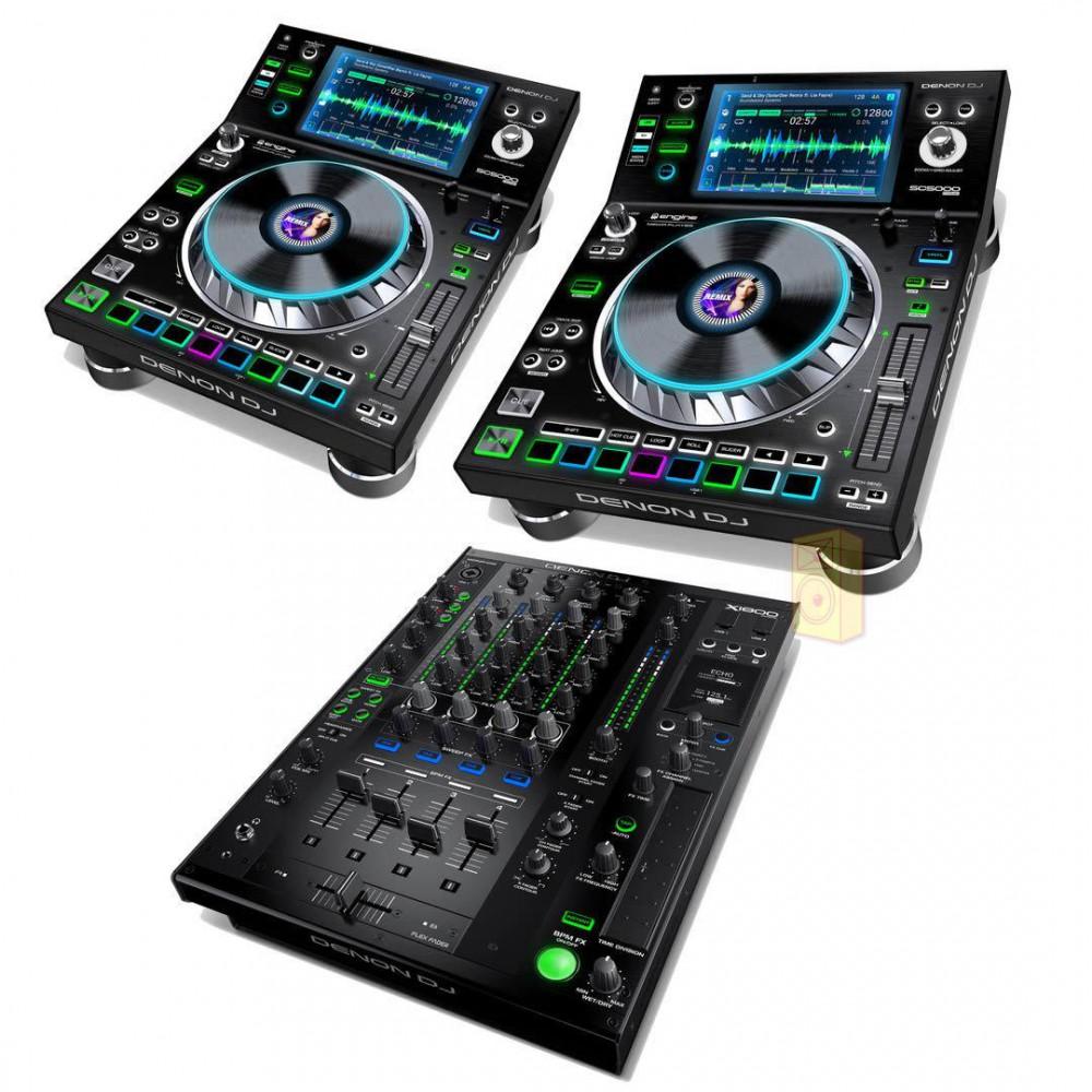 Denon DJ Prime set (2x SC5000 1x X1800)