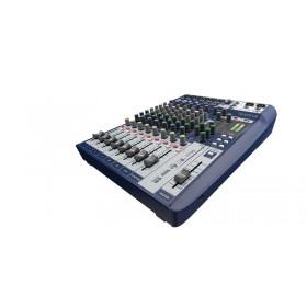 schuin Soundcraft Signature 10 - Compacte Analoge Mixer