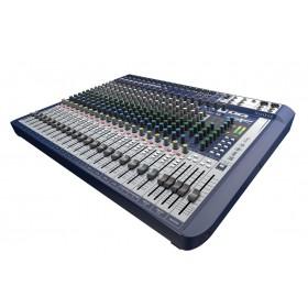 Soundcraft Signature 22 - Compacte Analoge Mixer schuin