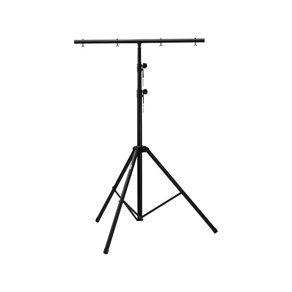 Adam Hall SLTS 017 - Grote licht standaard met TV Spigot T-Bar