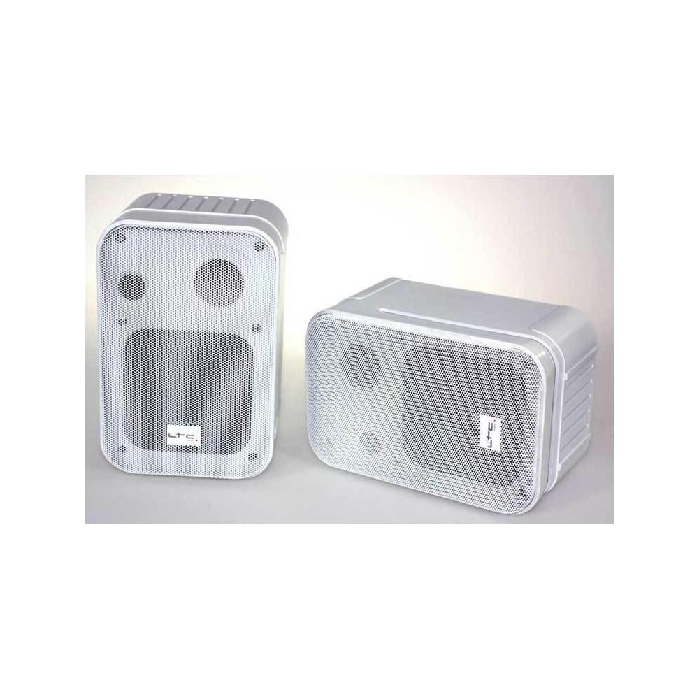LTC SSP405W 2-WEG surround luidsprekers 60W (wit)