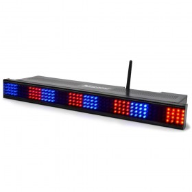 BeamZ Professional Wi-Bar 192 RGB LED's Accu 2.4GHz DMX - aan 3