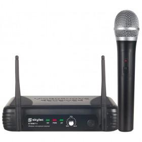 Skytec STWM711 - VHF Microfoon Systeem 1-kanaals met microfoon