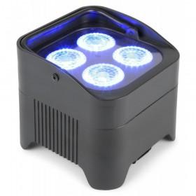 voor BeamZ BBP94 - Accu Uplight Par 4x 10W