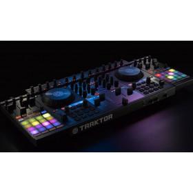 Native Instruments Traktor Kontrol F1 Pro DJ Software Controller - setup met S4