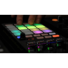 Native Instruments Traktor Kontrol F1 Pro DJ Software - bediening veelbeeld