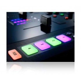 Native Instruments Traktor Kontrol Z2 Pro Mixer/Controller cue loop knoppen zoom