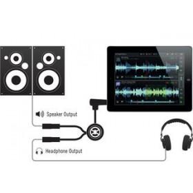 Schema Native Instruments Traktor DJ cable - Voorbeluister spliter kabel