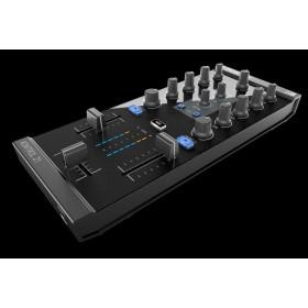 Traktor Kontrol Z1 2 kanalen Mixer Pro Dj Software Controller schuin voor boven zwart
