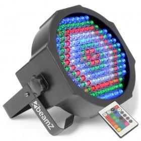 BeamZ FlatPAR 154x 10mm RGBW LED's
