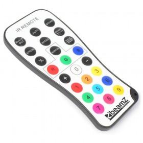 Beamz 2x Wi-bar 192 LED RGB op Batterij en kabel afstandsbedining