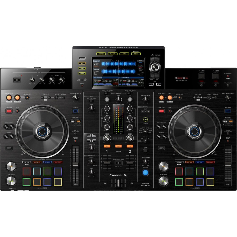Pioneer XDJ-RX2 all-in-one DJ-controller bovenkant bediening