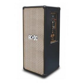 iDance ACDC TNT-1 Vintage PA Speaker 1000Watt - schuin voorkant