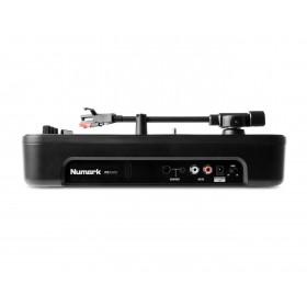 Numark PT01 Scratch Draagbare draaitafel met DJ Scratch Switch Zijkant
