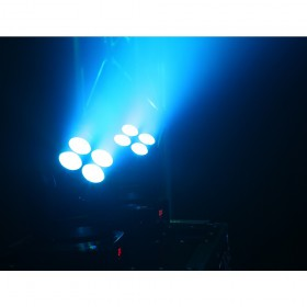 BeamZ MHL36 Moving head set van 2 stuks inclusief tas effect 3 blauw