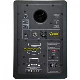 Monkey Banana Gibbon 5 - Actieve Near-Field Studio Monitor achterkant met aansluitingen
