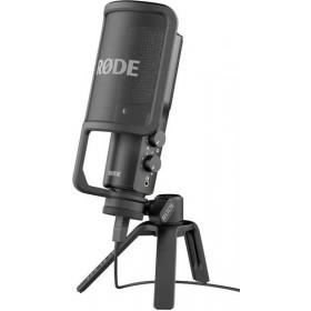 Rode NT-USB - microfoon incl. desktop statief en popfilter