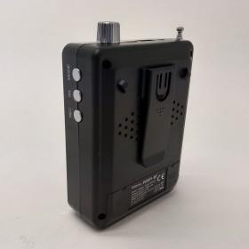 Ibiza Sound PORT1-BT - Compacte luidspreker met Bluetooth 30W achter zij