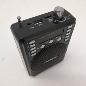Ibiza Sound PORT1-BT - Compacte luidspreker met Bluetooth 30W aansluitingen usb sd en jack