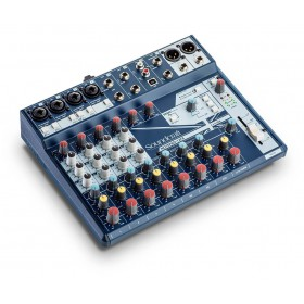 Soundcraft Notepad-12FX - zijkant schuin