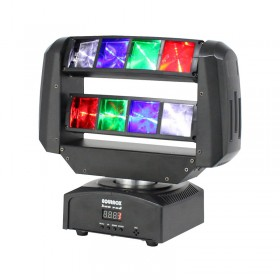 Equinox Hot Rod Moving Head - aan