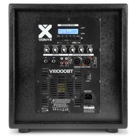 Vonyx VX1000BT Actieve speaker kit 2.2 170.104 achtkant subwoofer