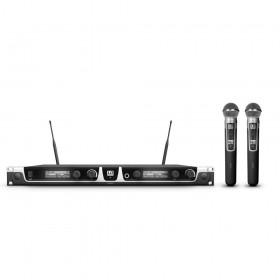LD Systems U518 HHD2 Draadloos microfoonsysteem met 2 x handmicrofoons