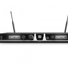 LD Systems LDU518 HHD2 Draadloos microfoonsysteem met 2 x handmicrofoons