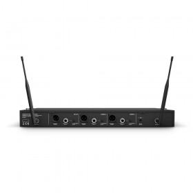 LD Systems LDU518HHD2 Draadloos microfoonsysteem met 2 x handmicrofoons aansluitingen