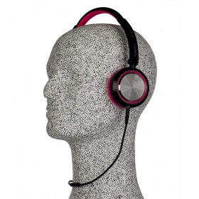 JB Systems HeadZ hoofdtelefoon Fuchsia