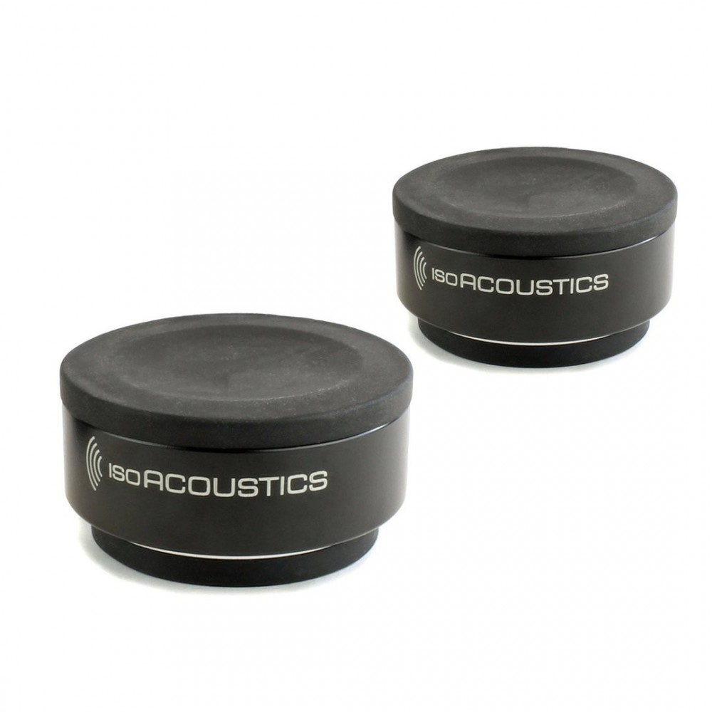 IsoAccoustics ISO-PUCK - Universele Isolatie stands set van 2 stuks