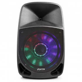 Fenton FT1500A Actieve speaker 15'' MP3/BT/LED voor