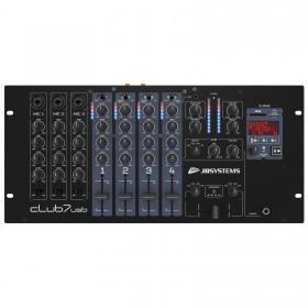 JB Systems CLUB7-USB 7 kanaals rackmixer - DJ Verkoop