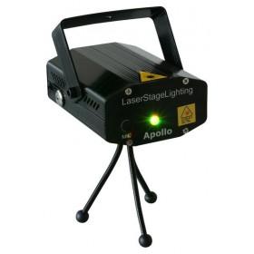 BeamZ Apollo - Multipoint Lasereffect Rood/Groen 170mW
